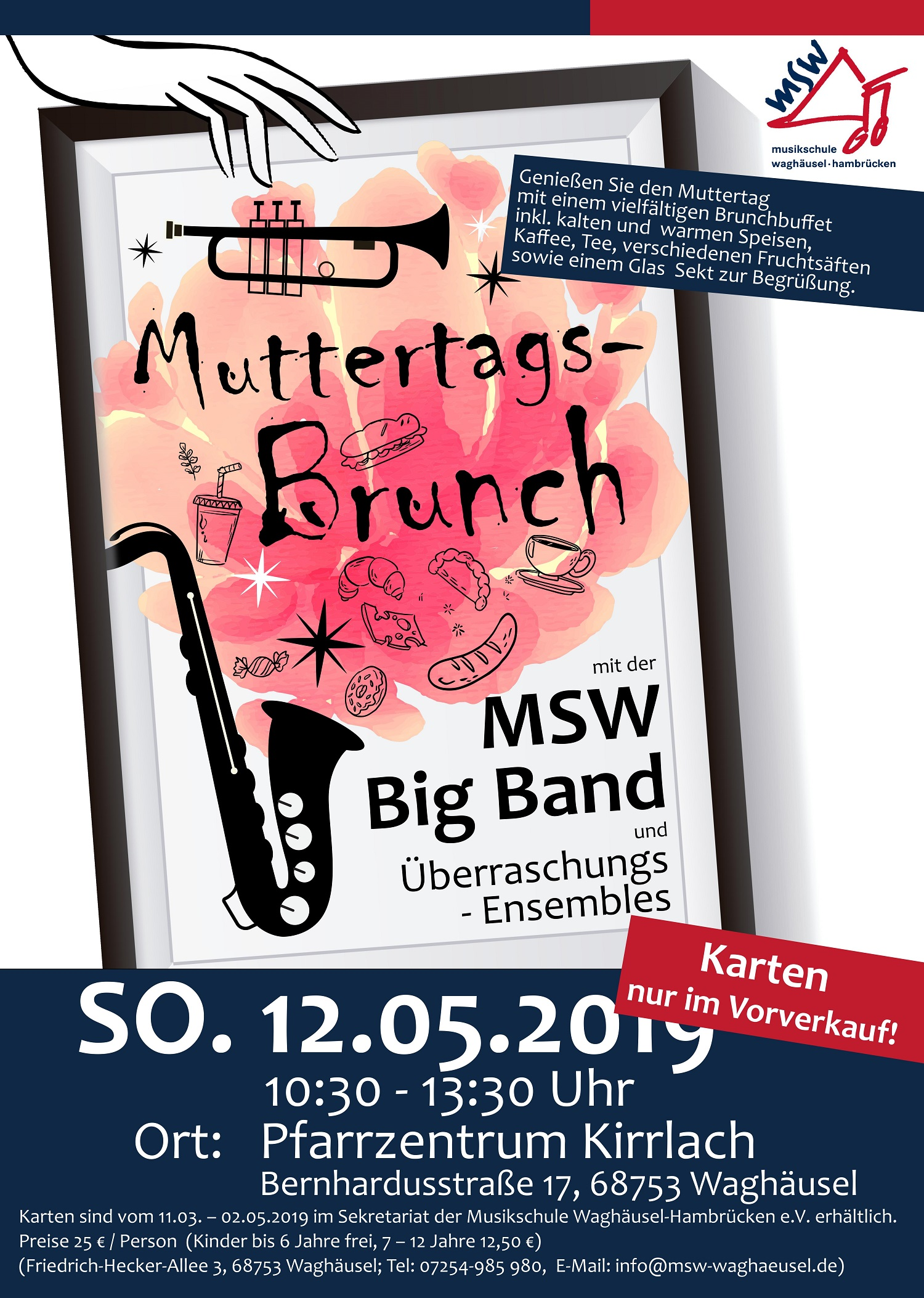 Beswingter Brunch zum Muttertag